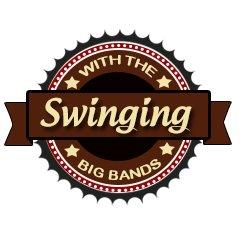 Caption: Swinging with the Big Bands Logo, Credit: KUNV-FM