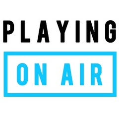 Caption: Playing on Air