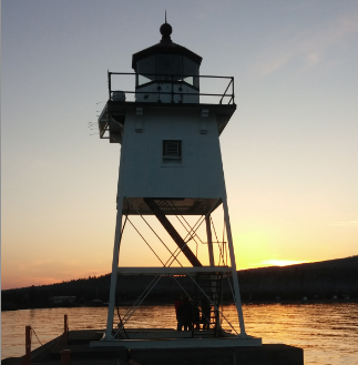 Caption: Grand Marais Lighthouse, Credit: Will Moore