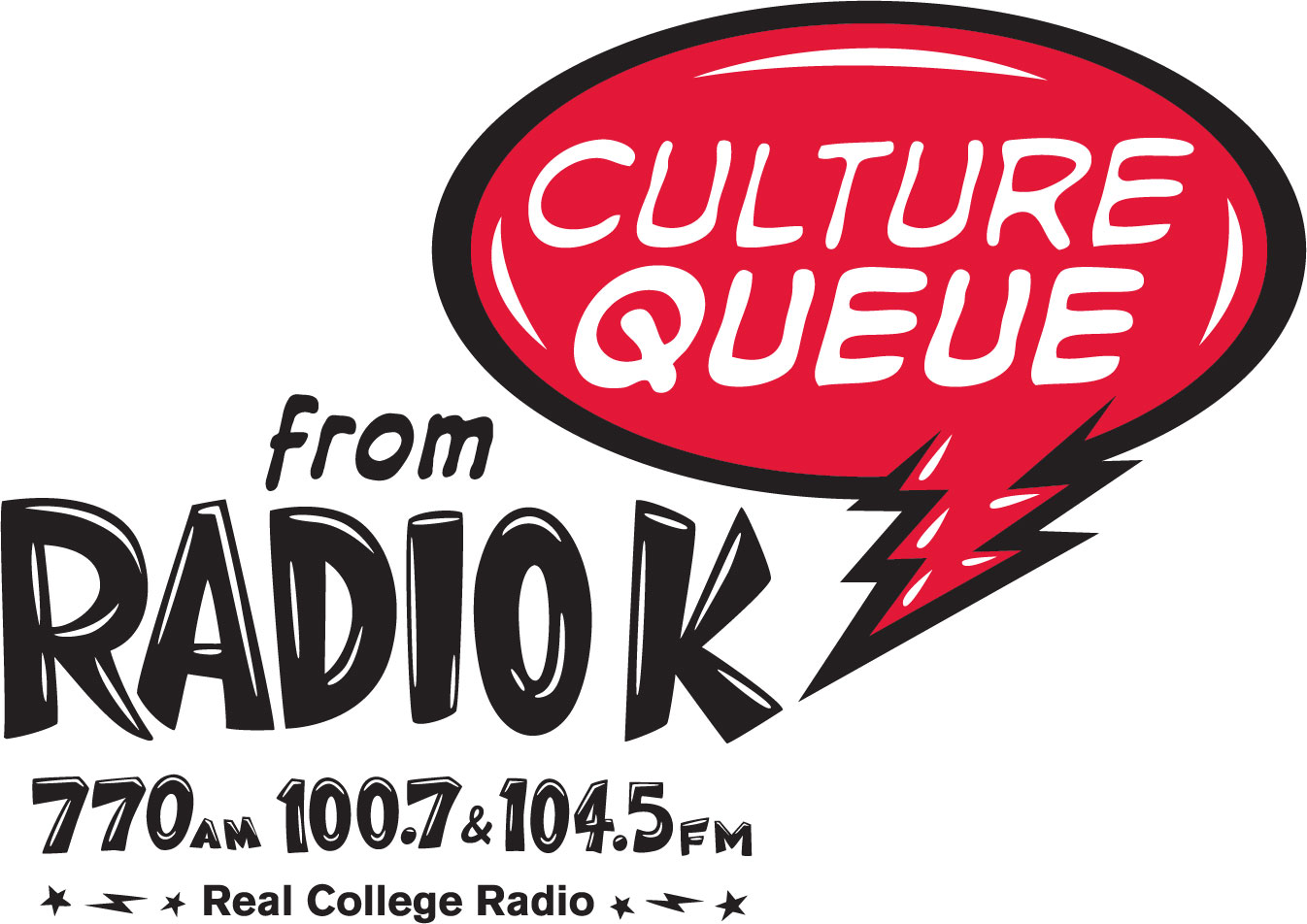 Caption: Radio K - Culture Queue - the art show that rocks., Credit: KUOM