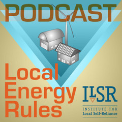 Caption: Local Energy Rules Podcast Front