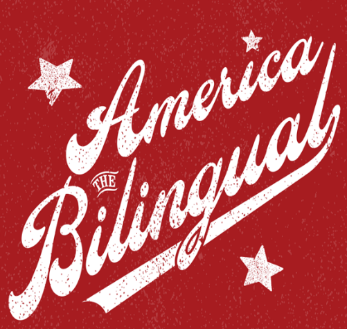 Caption: America the Bilingual, Credit: Carlos Plaza Design Studio