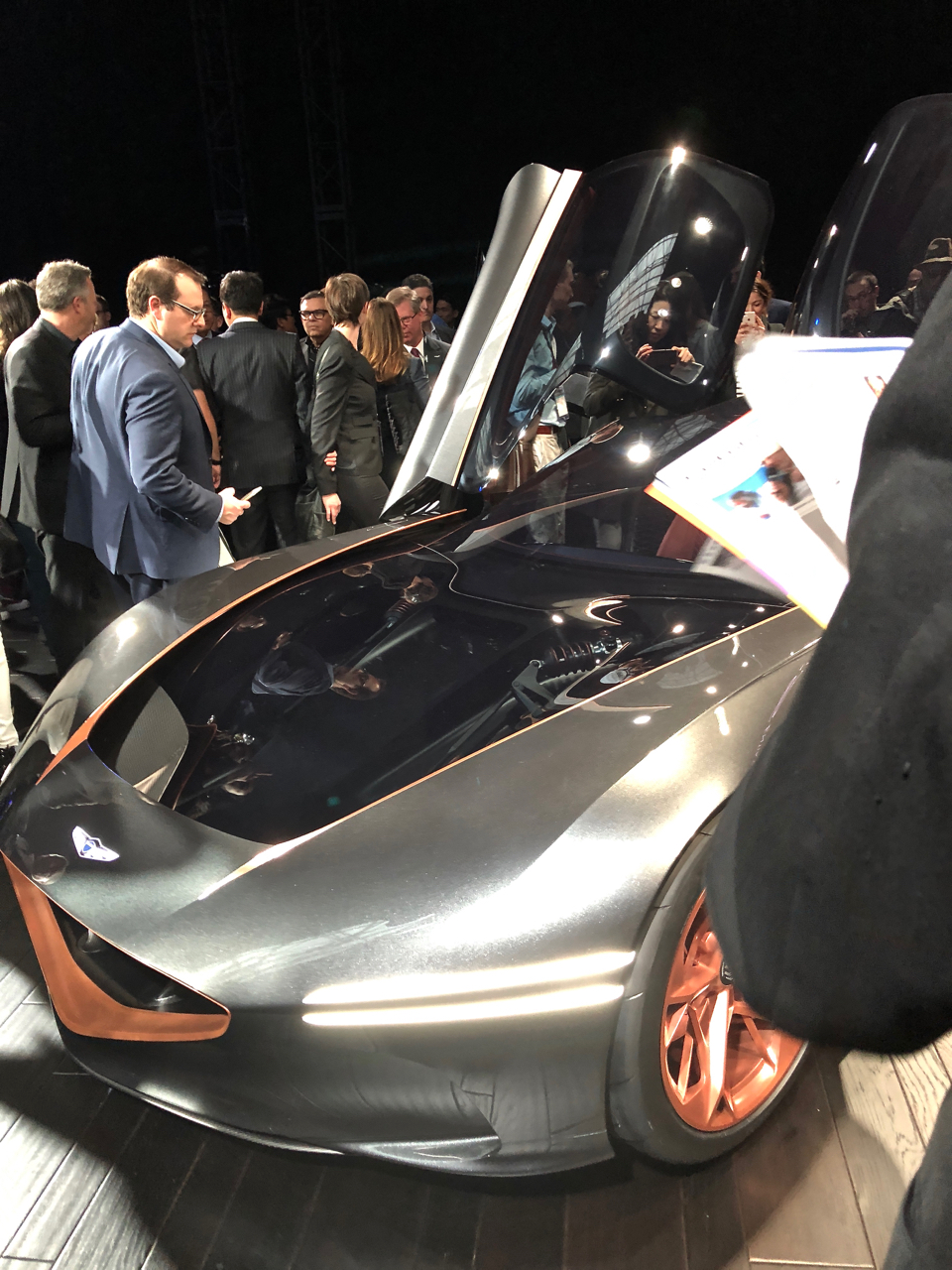 Caption: NYIAS 2018 Genisis, Credit: Tom Howell