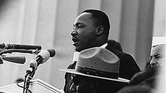 Caption: Martin Luther King Jr.