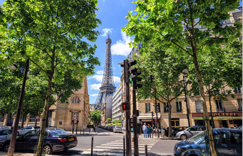 Caption: Paris Street View, Credit: Irina Paley