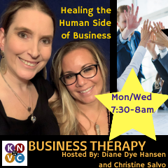 Caption: Business Therapy, Credit: Diane Dye Hansen