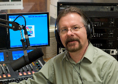 Caption: John Covach, host