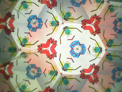 Caption: Kaleidoscope, Credit: FooNar