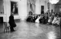 Caption: Pablo Casals concert at the White<br/> House on November 13, 1961