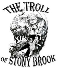 Caption: The Troll of Stony Brook, Credit: Artwork: Simon Adams