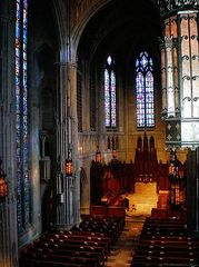 Caption: Heinz Chapel Chancel