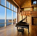 Caption: The Shalin Liu Performance Center, Rockport, MA
