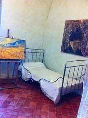 Caption: Van Gogh's Room St Remy de Provence.