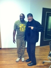 Caption: Steve And Al jarreau, Credit: Kim Lindsey