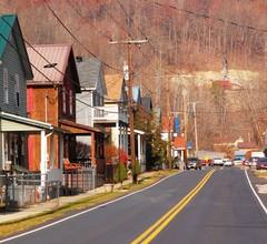 Caption: Main Street, McRoberts, KY.