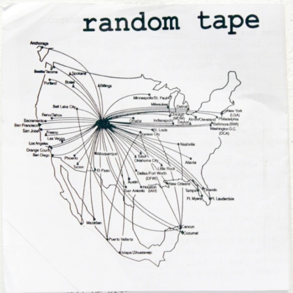 Caption: The Original Random Tape Zine