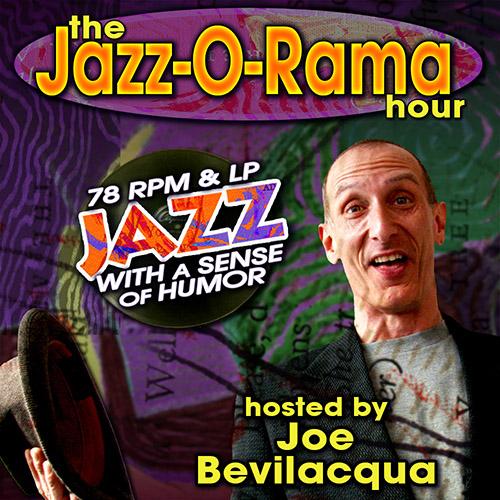 Caption: Joe Bev hosts an hour of vintage Jazz, Credit: Lorie B. Kellogg