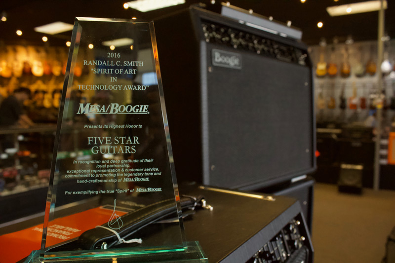 Five Star Guitar Award