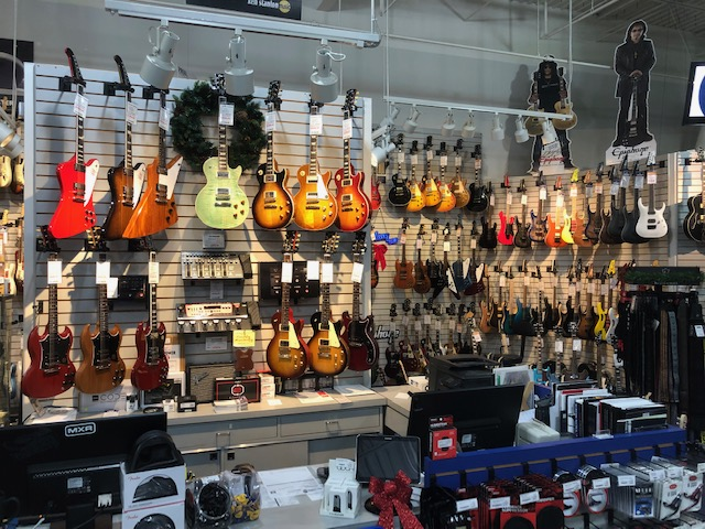 Ken Stanton Music Showroom