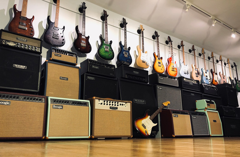 Wild Guitars showroom