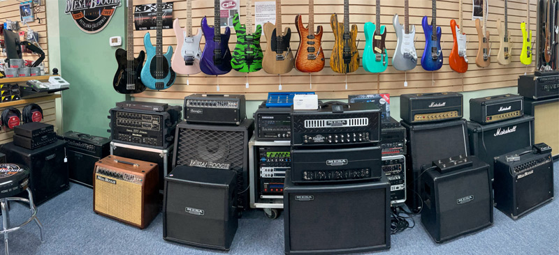 Killerburst Guitars showroom