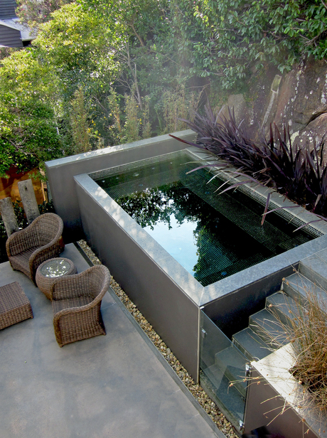 Small Pools For Small Spaces Articles Pool Spa Review