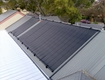 Heliocol polypropylene panel solar pool heating system