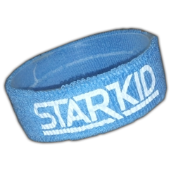 Features a stretchy StarKid logo on a cotton headband
