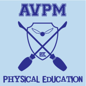 AVPM Physical Education - Light Blue and Navy