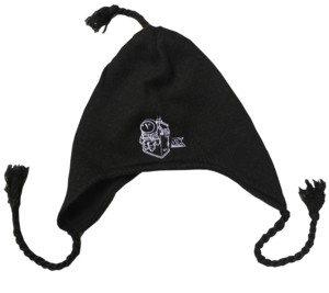 Team StarKid Knit Hat with Ear Flaps and ties