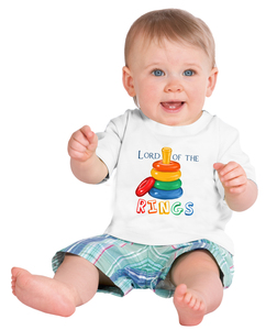 Lord Of The [Stacking] Rings Baby Feeding Bib