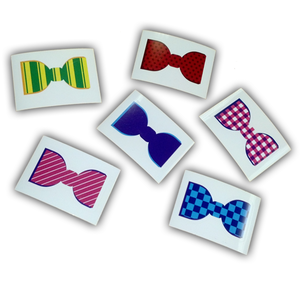 Darren Criss Bow Tie Sticker Pack