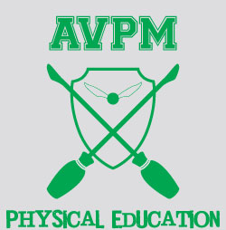 AVPM Physical Education Silver and Green