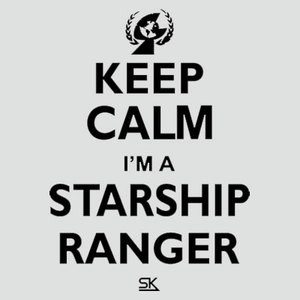 Keep Calm I'm a Starship Ranger Tee