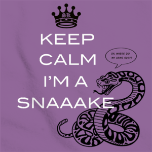StarKid Keep Calm I&#x27;m a Snake