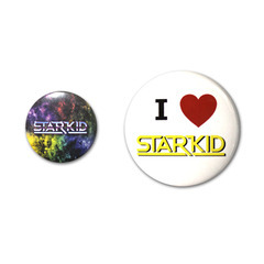Team Starkid Button Pack