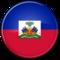 Haiti kruglij flag 600x601