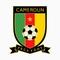 Sbornaya kameruna po futbolu emblema
