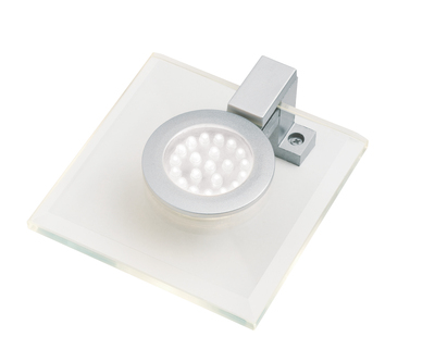 Blue LED Glass Square Under Cabinet Downlight