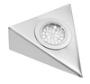 24V Stainless Steel Triangle Downlight, Warm White LED