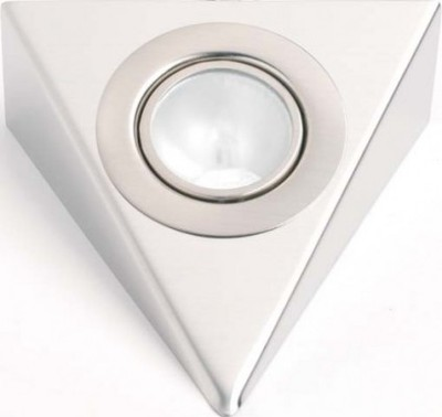 Low Voltage Stainless Steel  Triangular Downlight Incls 20W G4 Bulb
