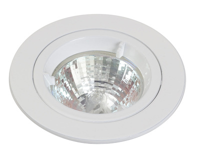 Chrome Mains Voltage Fixed Downlight