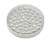3W GX53 Circular 50 Diode LED Lamp - Warm White