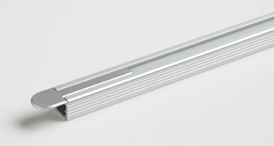 Recessed Aluminium Profile inc. LED tape with 60 white LEDs