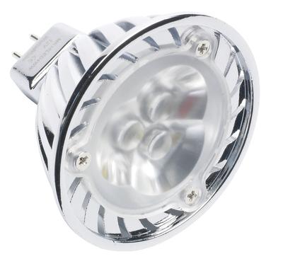 5 Pack, 4W Warm White MR16 High Power LED Lightbulb