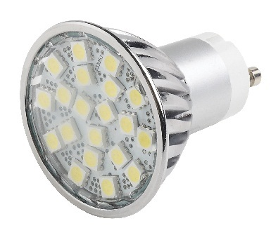5 Pack, 5W 5050 Retro Fit LED Lamp, Warm White