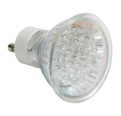 10 Pack, 1.8W GU10 Blue LED Lamp