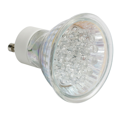 GU10 21 Cluster LED Lamp, Cool White
