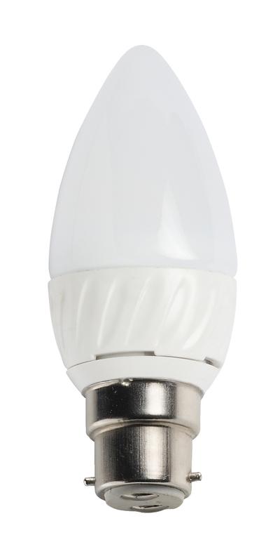 4W COB LED CANDLE, BC CAP