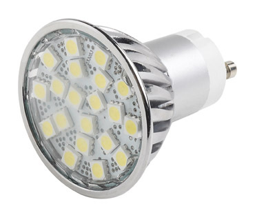 5 pack, 4W Warm White 5050 Retro Fit - High Output SMD LEDS - Alternative to GU10 50W